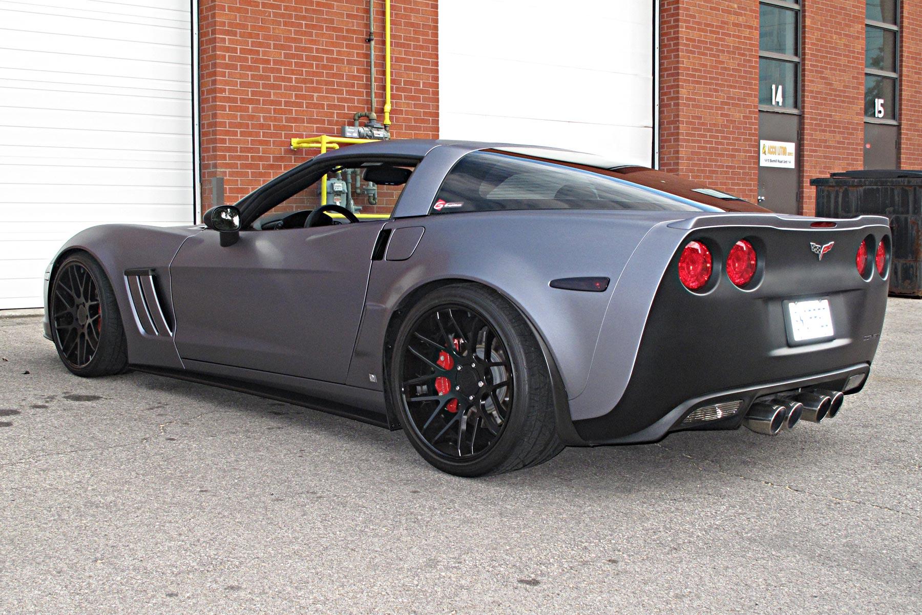 car wrap corvette - photo #36