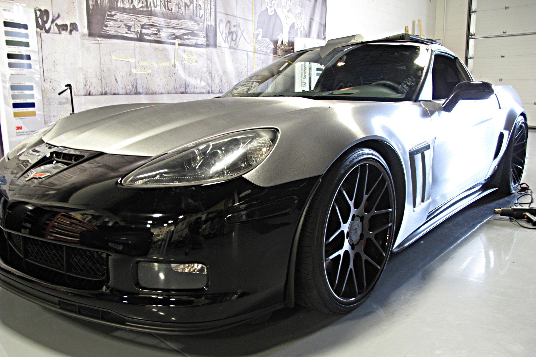 car wrap corvette - photo #15