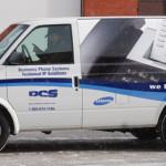 DCS Telecom Van