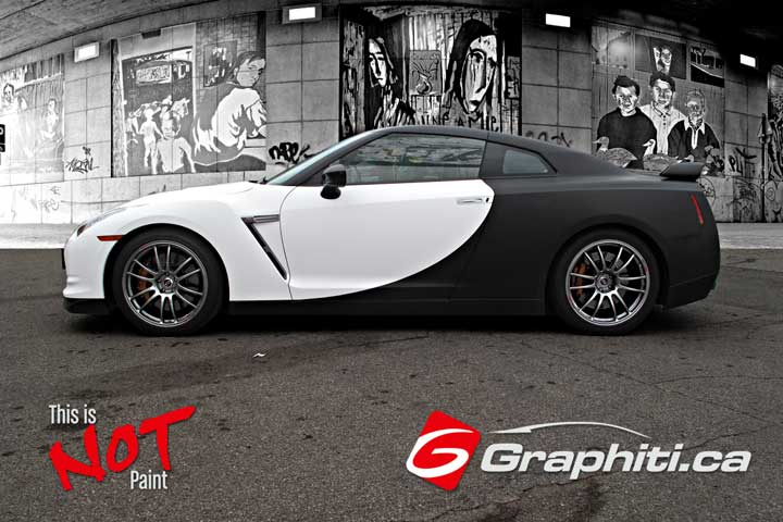 Gtr Car Wrap Graphiti