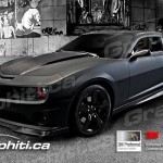 Camaro Vehicle Wrap