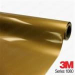 M 1080 Gloss Gold Metallic Vinyl Wrap